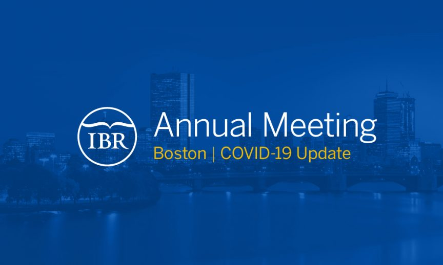 IBR Annual Meeting update