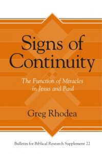 Signs of Continuity
