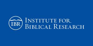 Institute for Biblical Research logo
